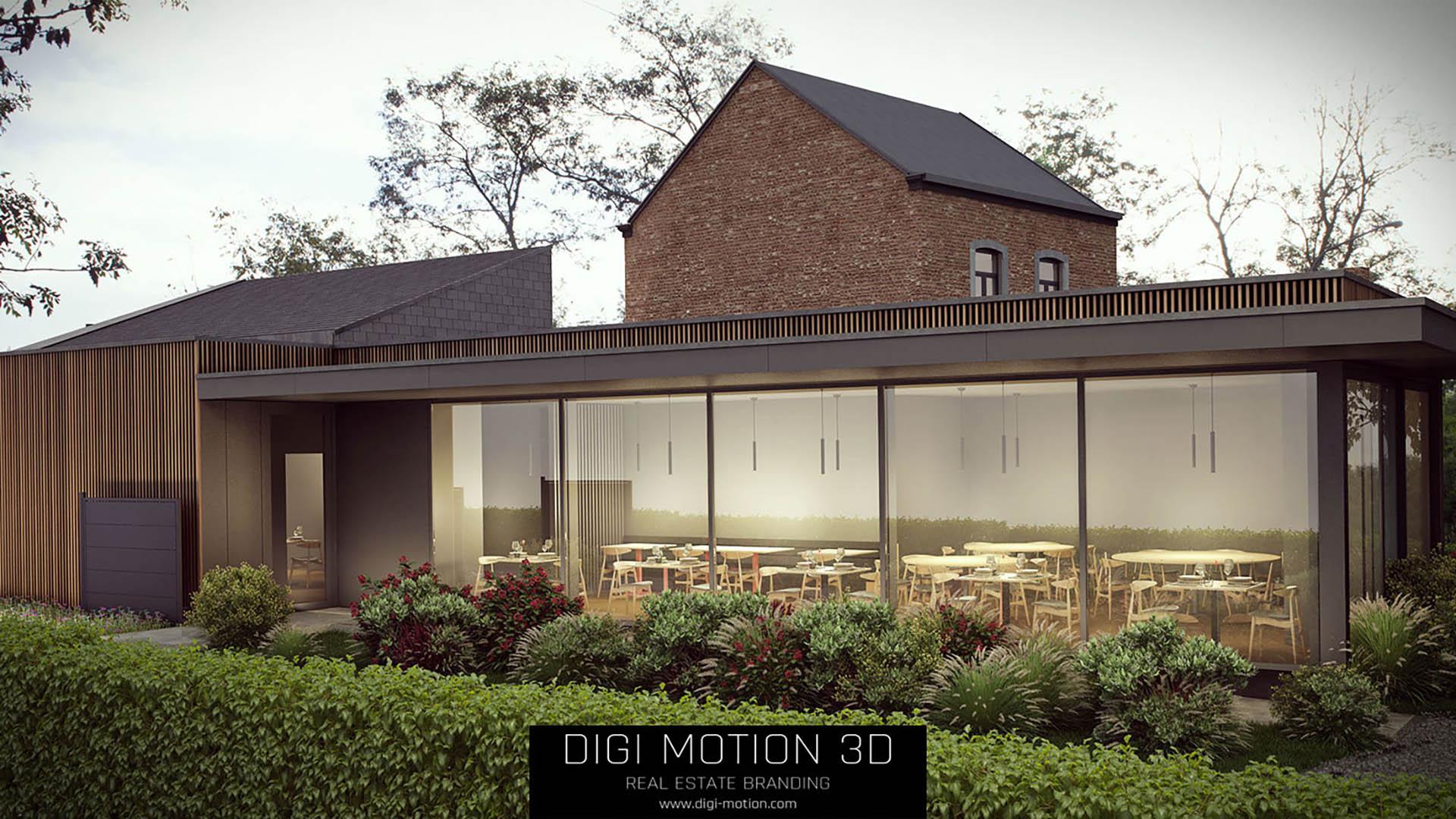 3D Visualisierung für Exterior Design