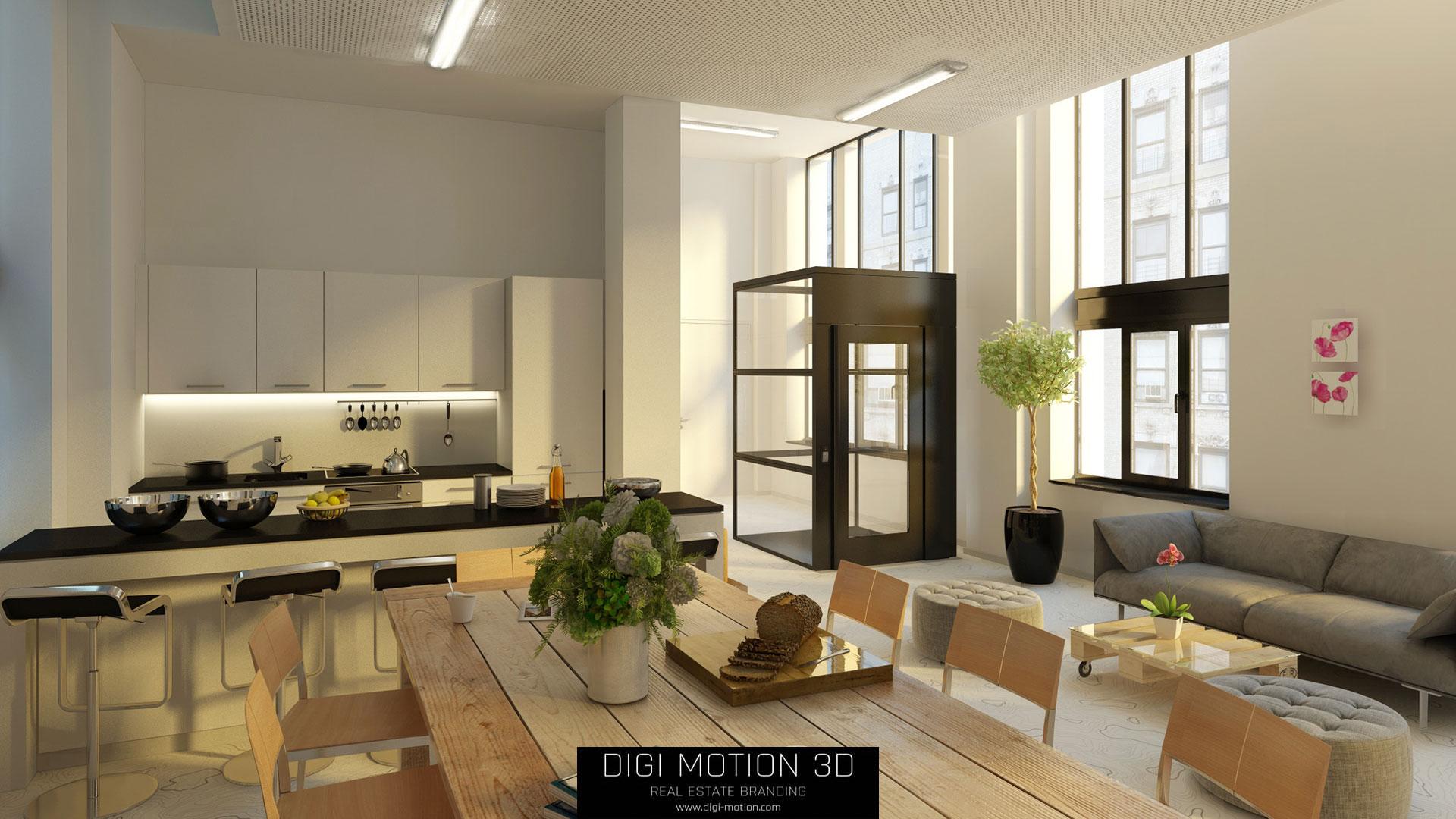 3D Visualisierung für Interior Design