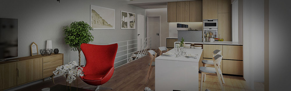 Immobilienmarketing 3D Visualisierung